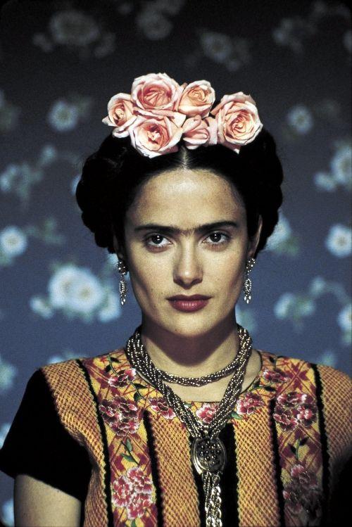 Salma Hayek as Frida (2002).