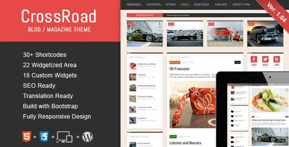 Wordpress Bootstrap Theme