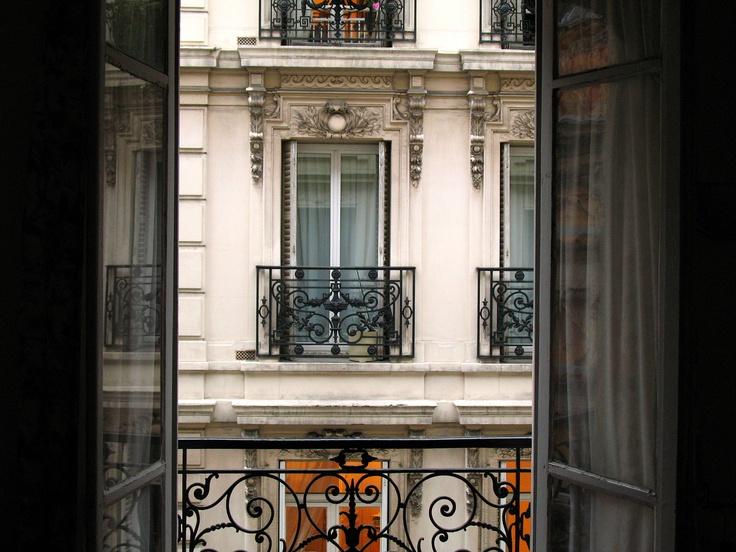 Window to my heart, Paris.