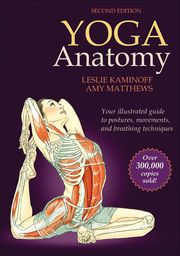 Yoga Anatomy, Second Edition, brings the relationship between yoga and anatomy to life with detailed, full-color anatomical illustrations. This book arranges exercises into six sections (standing, sitting, kneeling, prone, supine, and arm supports), providing an inside look into each pose and a better understanding of the movements involved.