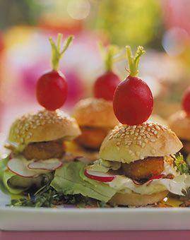 Miniburger - Kindergeburtstag: Abendessen ist fertig! - [LIVING AT HOME]