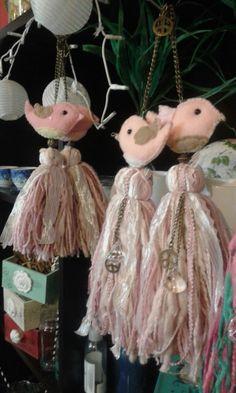 borlas decorativas línea bird! buscalas en Vivaalma&Deco