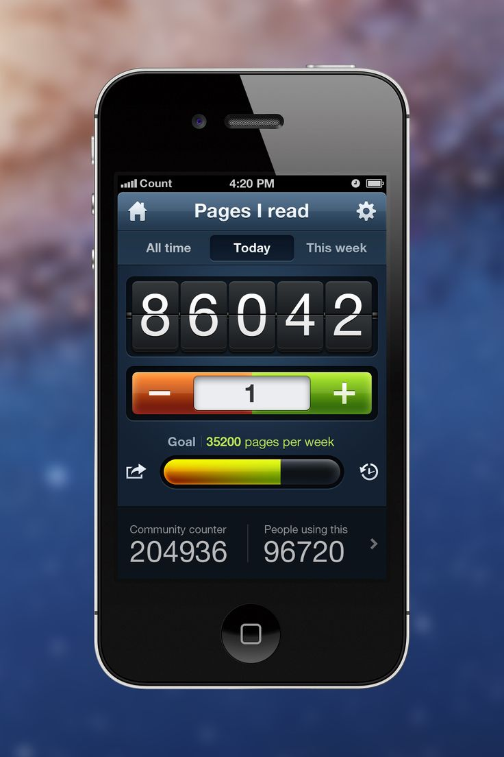 Counters App / by Mark Pixel