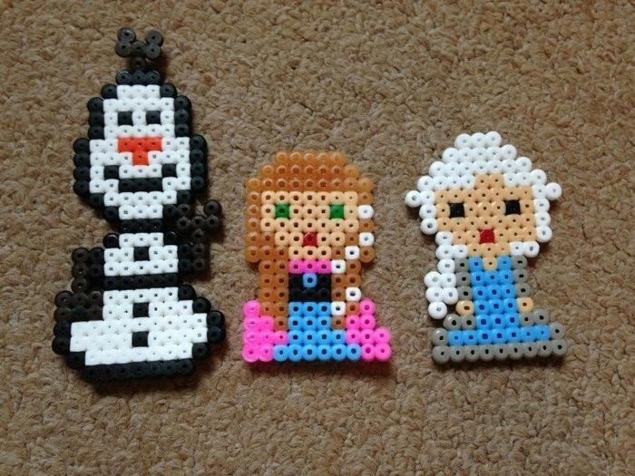 Queen Elsa Frozen Hama Perler Beads Bugelperlen 3