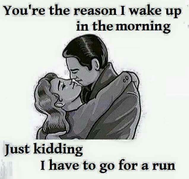 Daily morning run                                                                                                                                                      More