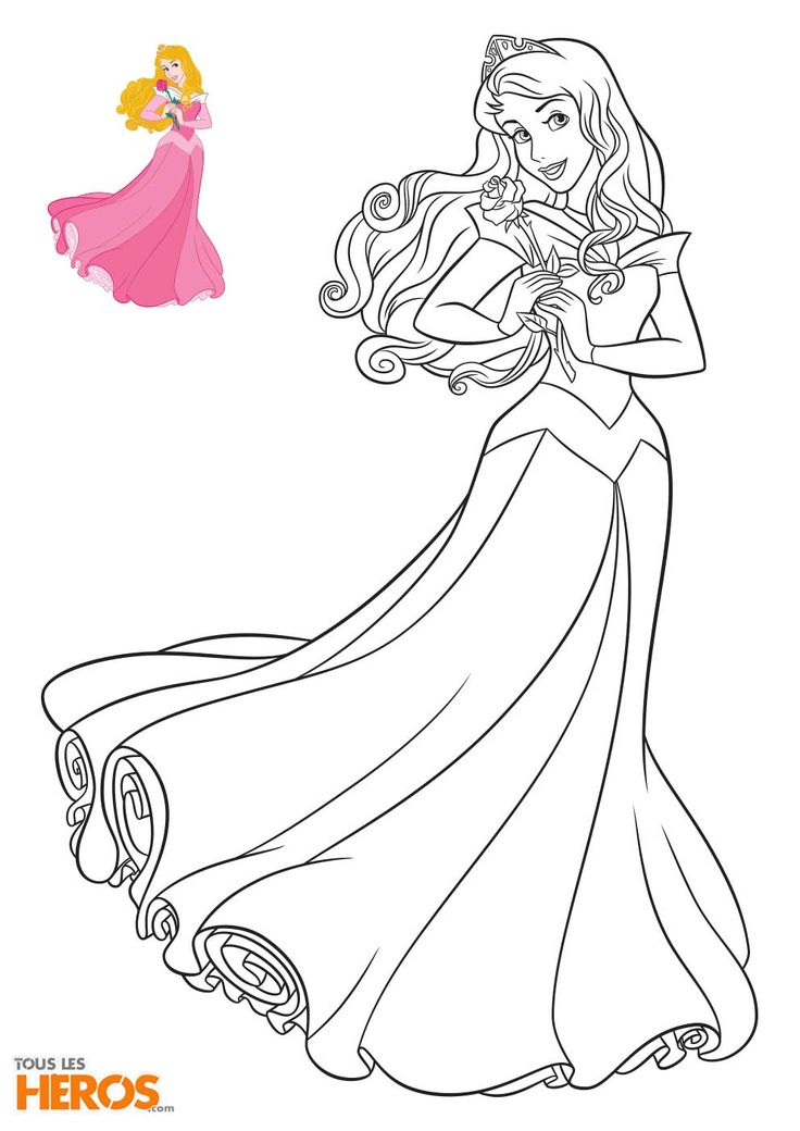 25 best ideas about coloriage disney on pinterest coloriage de disney dessin a colorier - Coloriages princesse ...