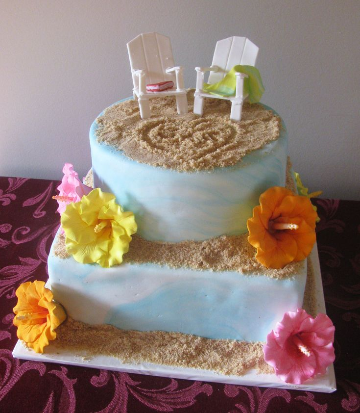 Cake Gallery Cakes » Shower Tropical