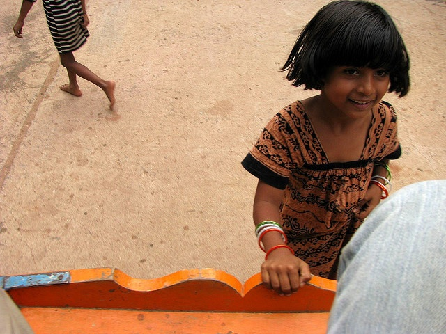 The Lil Girl of Badami by Arun Shah Masood, via Flickr