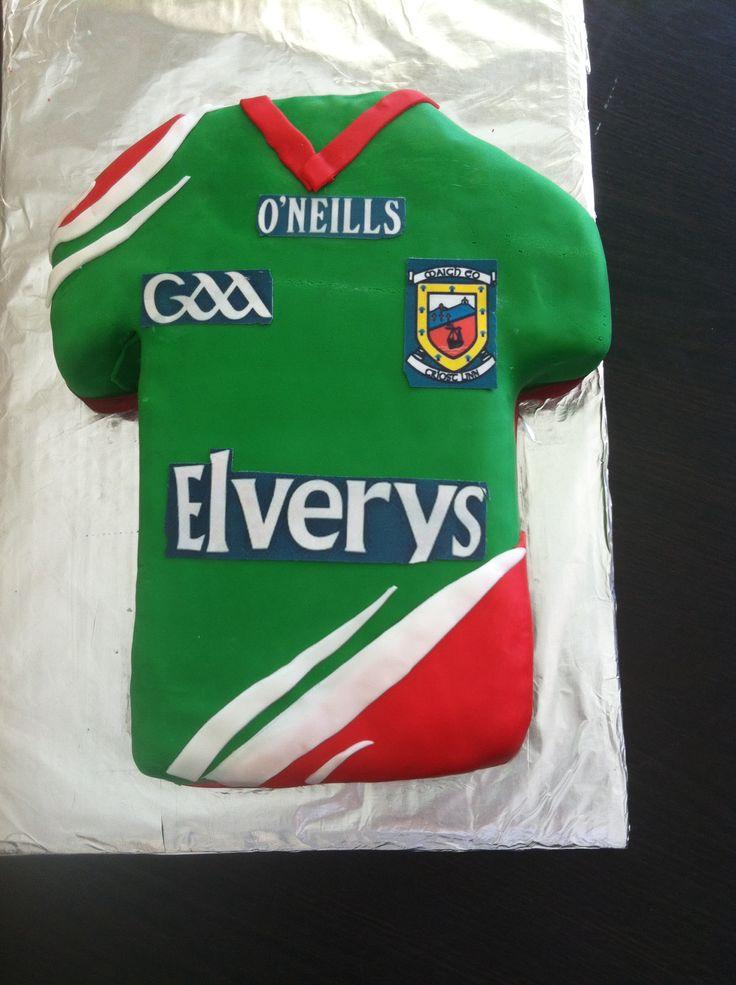GAA Mayo Jersey cake | Gaelic Football ⚽️ | Pinterest ...