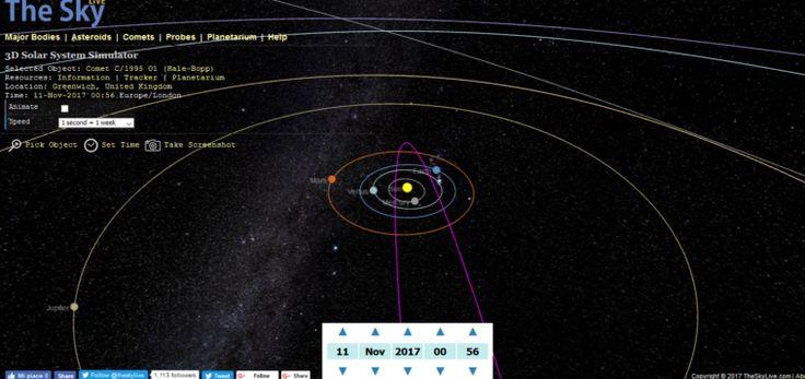 Cómo rastrear posiciones actuales y futuras de Cometas - https://www.vexsoluciones.com/noticias/como-rastrear-posiciones-actuales-y-futuras-de-cometas/