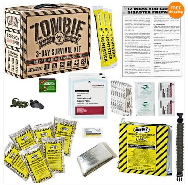 zombie survival kit | Halloween | Pinterest