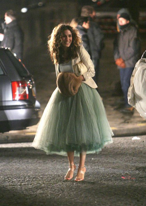 More Looks of Carrie Bradshaw in The Filming of Sex in New York