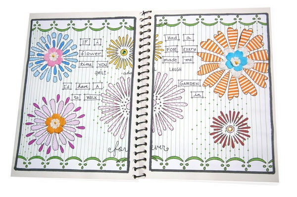 Flower Doodles #doodles #journalbook #artbook