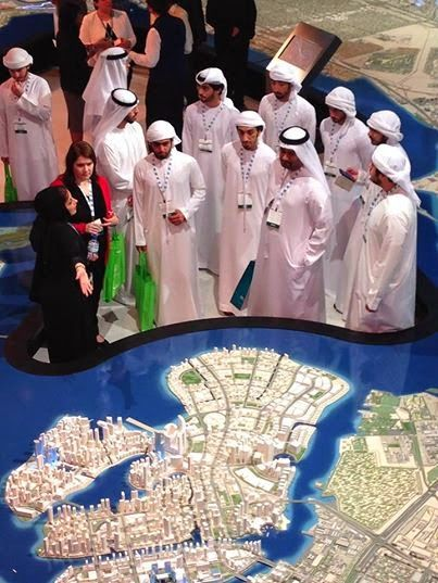 Teaching Strategy in the UAE: Cityscape Abu Dhabi 2014: a Strategy field trip