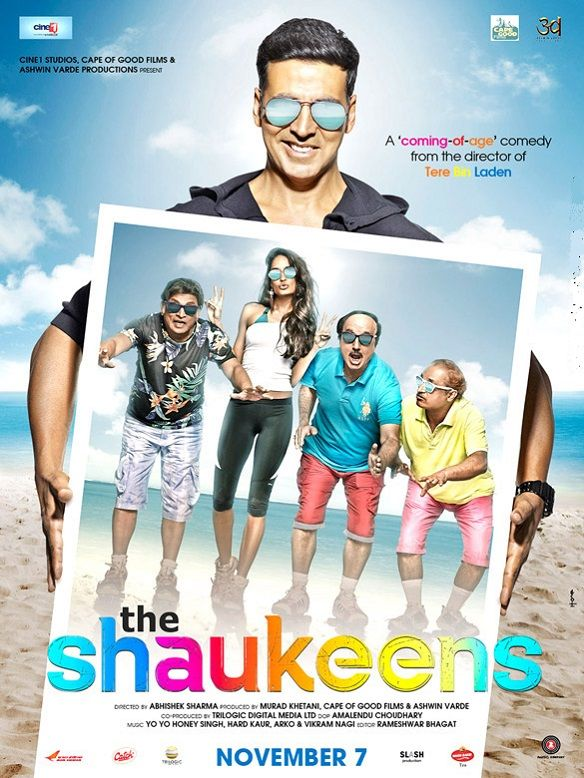 First Look Poster Of Shaukeen Hindi Movie is revealed Hindi film feature Akshay Kumar and Lisa Haydon in Lead Role are also featuring in Shaukeen Hindi Movie Poster