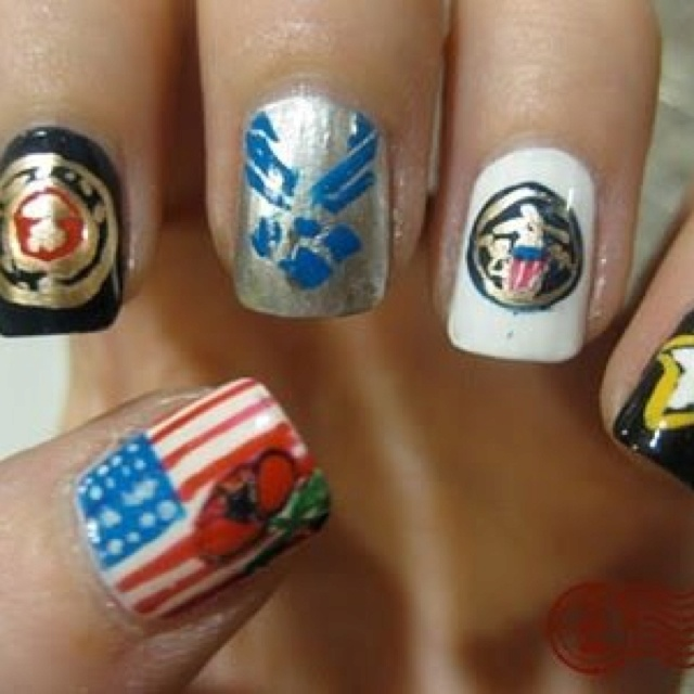 Army Nail Art 29 best Miscell...