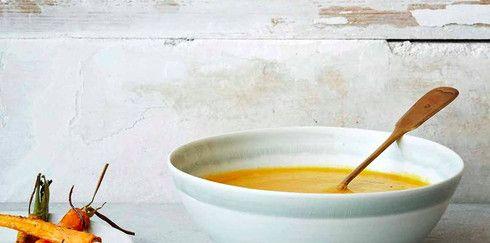 Восхитительный крем-суп из моркови и имбиря