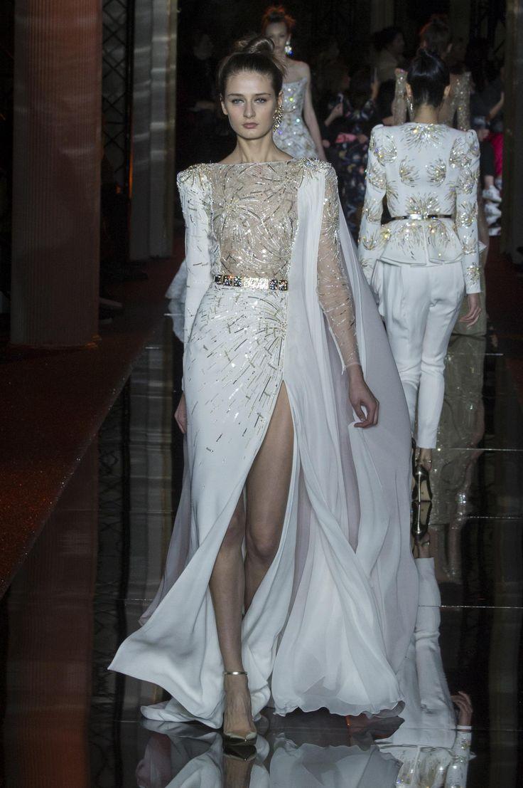 Défilé Zuhair Murad Printemps-été 2017 Haute couture   Le Figaro Madame