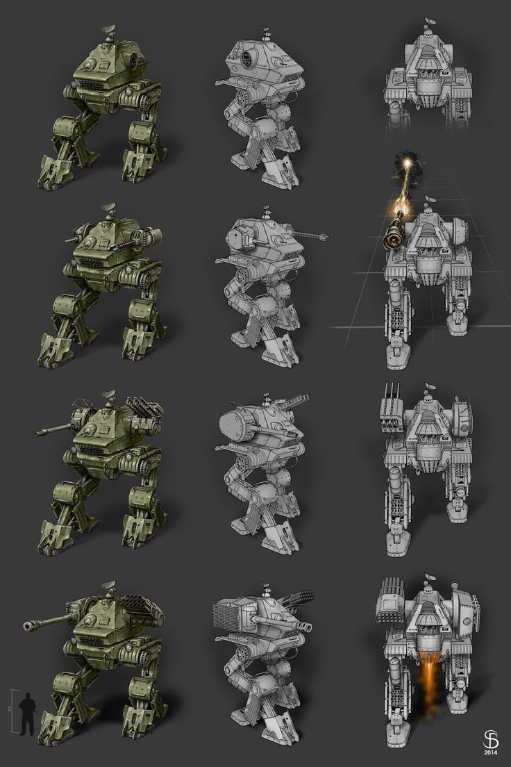 A concept for battle robots shooter game in the post-apocalyptic world.  Robot and modernizations of weapons constructed from an old Soviet tank. https://www.artstation.com/artwork/lEnXz https://www.behance.net/gallery/50345531/Battle-robots-shooter-game   #Digital2D #ConceptArt #GameArt #Weapons #Battle #Robot #ShooterGame #SeryogaBiryukov #Tank #Modernizations #Heavy #Soviet #Mecha #PostApocalyptic
