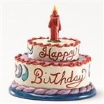 Cute Mini Birthday Cake Figurine from Miniatures - Jim Shore StoreBirthday Boxes, Minis Birthday Cake, Birthday Cakes