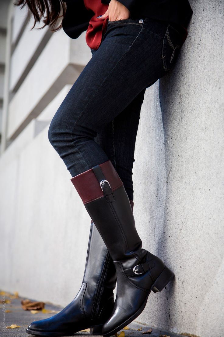 Black Riding Boots for Fall from @Ariat - Stylishlyme
