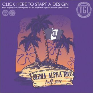 Sigma Alpha Mu | ΣΑM | Fall Rush | Rush Shirt | Fraternity Rush | TGI Greek | Greek Apparel | Custom Apparel | Fraternity Tee Shirts | Fraternity T-shirts | Custom T-Shirts