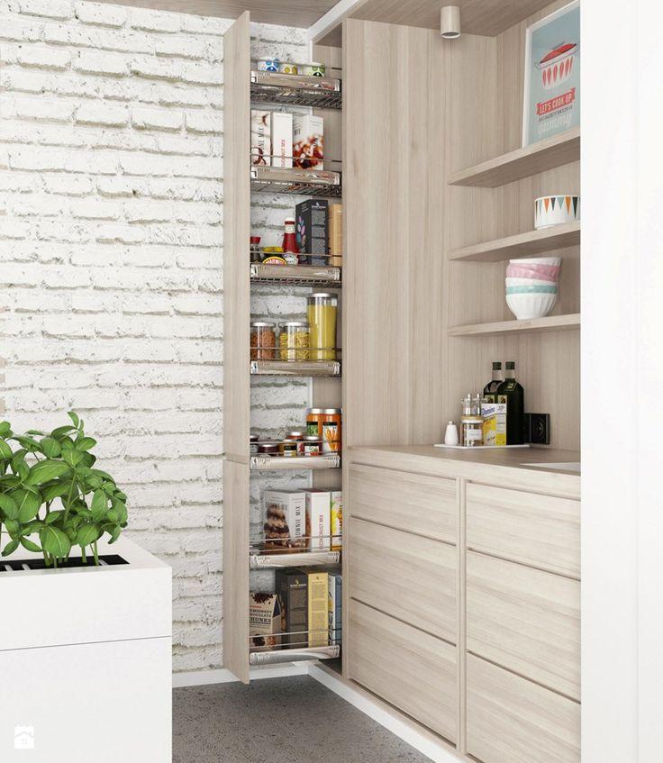 Kuchnia styl Skandynawski - zdjęcie od nobo aranżacje wnętrz - kche schwarz matt