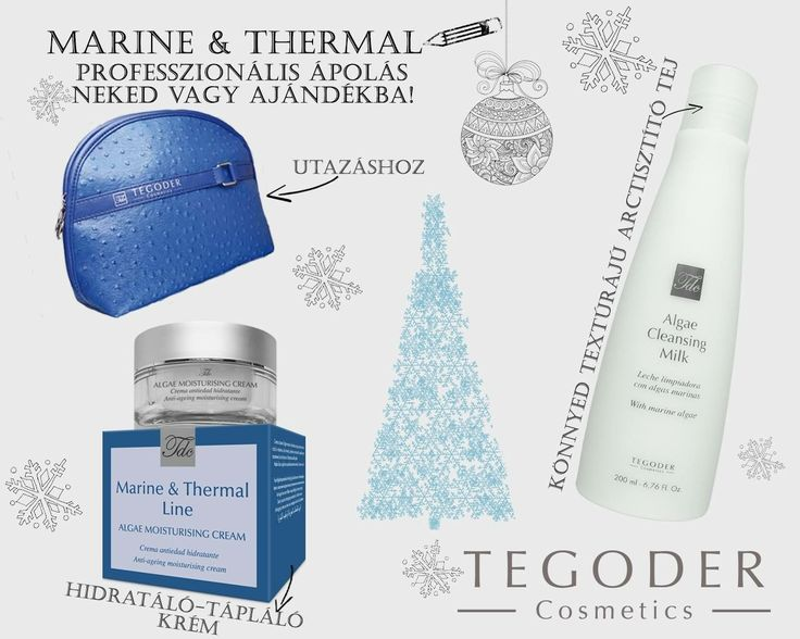 Tegoder Cosmetics - Marine&Thermal gift set ||| by: Fruzsina Csaba