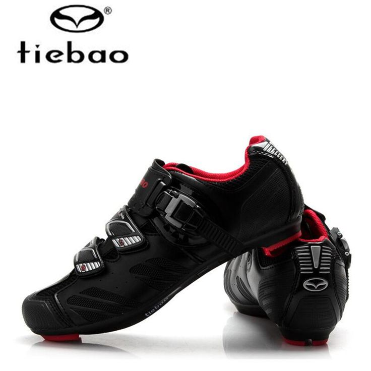 TIEBAO Cycling Shoes For Men road bicycle cycling shoes breathable bike self-locking shoes ultralight Zapatillas Zapato Ciclismo #Affiliate