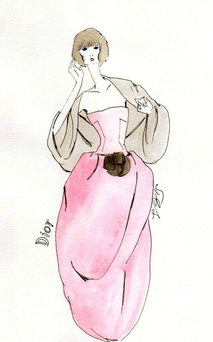 #fashionillustration #casabignami #vintage