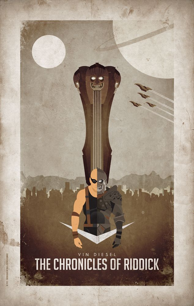 Chronicles of Riddick by Barbarian Factory
