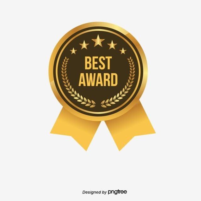 Best Award Label Design Elements Award Clipart Reward Illustration Png Transparent Clipart Image And Psd File For Free Download Latar Belakang