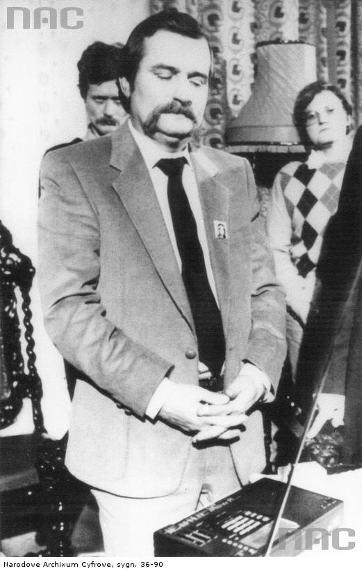 Lech Wałęsa, 1993.
