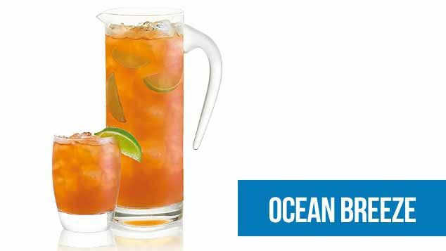 Australia Day - Ocean Breeze Punch Cocktail
