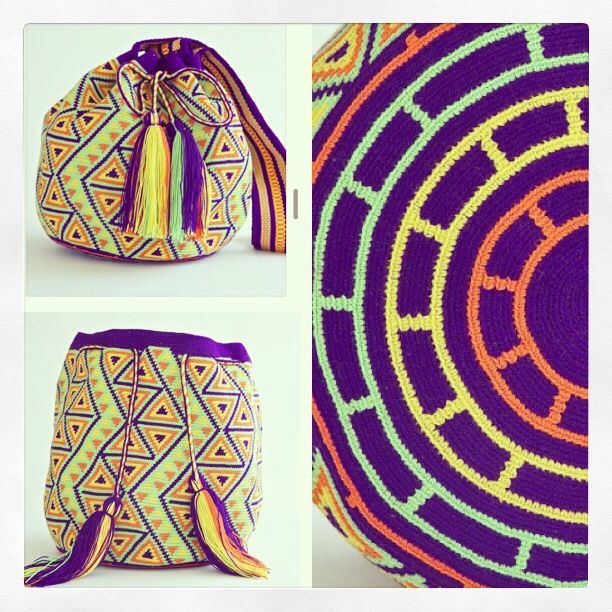 Hangout Poolside with your Wayuu Mochila this winter. WAYUUTRIBE.com