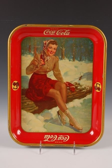 1941 COCA COLA SERVING TRAY