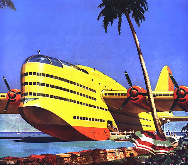 1946 ... way too big airplanes! by x-ray delta one, via Flickr