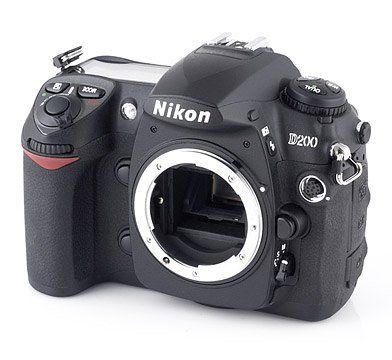 Nikon D200 10.2MP Digital SLR Camera (Body Only) >   Price:$1,799.99 > Click on the image for details and offers.