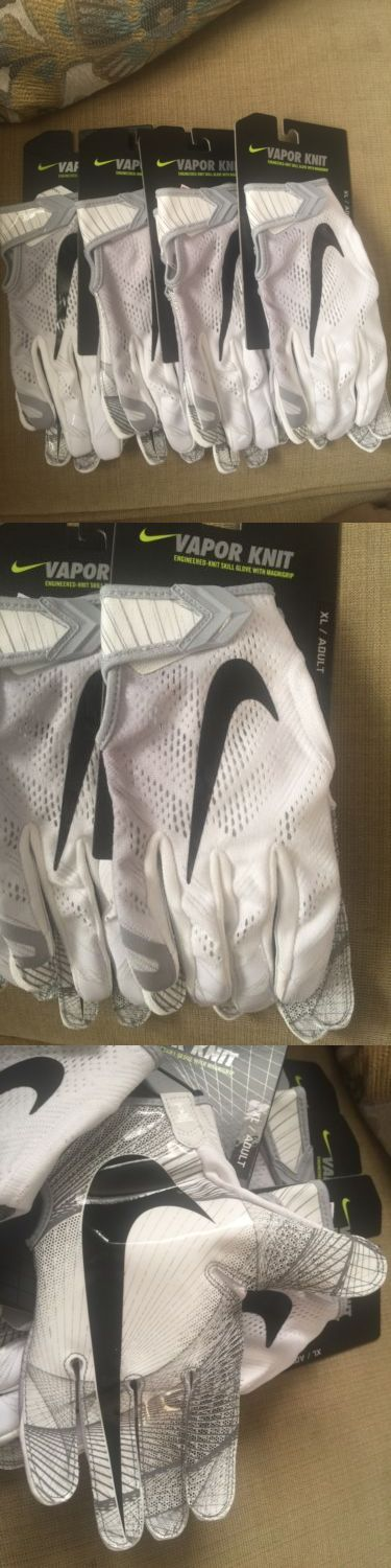 Gloves 159114: Nike Vapor Knit Football Gloves - White Silver Black Men S Size Xl For Receivers -> BUY IT NOW ONLY: $37.99 on eBay!