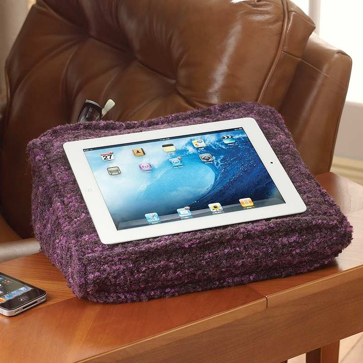 The Sweater Knit Lap Desk Pillow That S Even Softer Than