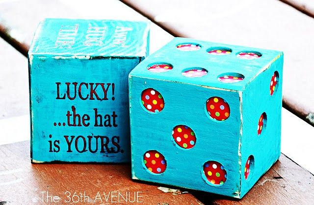 Deck Games! Super cool big block dice and game ideas for summer fun!