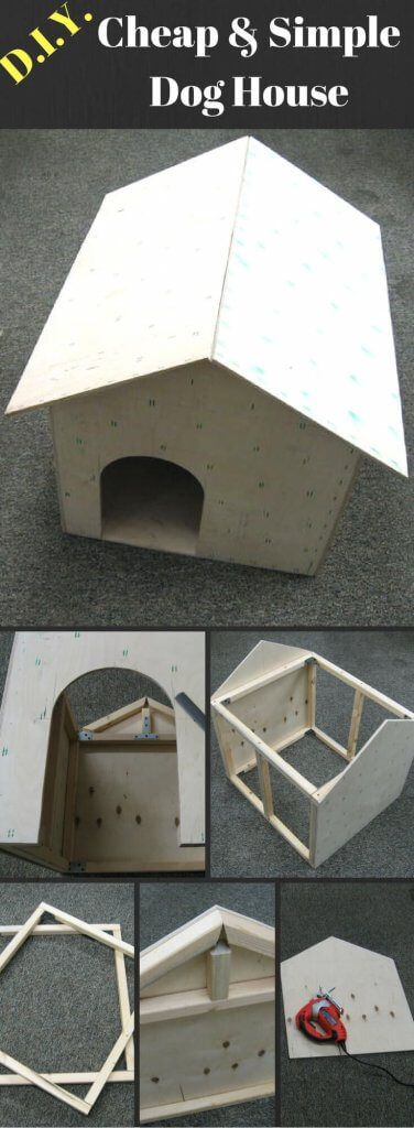 Only best 25 ideas about Dog House Plans on Pinterest