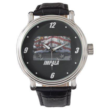 2008 Impala Wrist Watch - classic gifts gift ideas diy custom unique