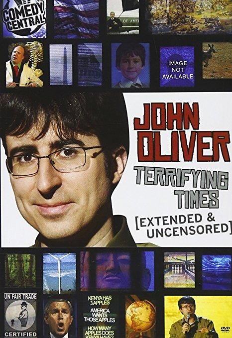 John Oliver & Andy Zaltzman & Troy Miller-John Oliver: Terrifying Times