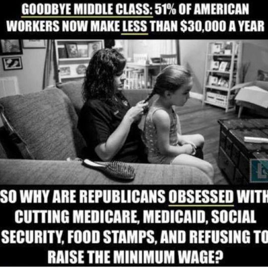 Their greed wants what they can get from that $30K/year.