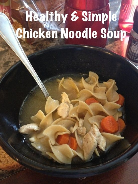 Best 25 simple chicken noodle soup ideas on pinterest simple entree to life healthy simple chicken noodle soup very light flavorful and healthy 5 ingredients 30 minutes you are welcome forumfinder Image collections