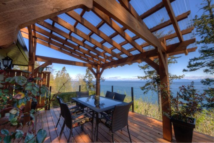 SOLD! Spectacular! Breathtaking views from this high bank Ocean front home! 2264 Seabank Road, Comox, BC $975,000. Call me to view this beautiful home and property. 1-877-216-5171 Visit www.michelecourtney for details and virtual tour.