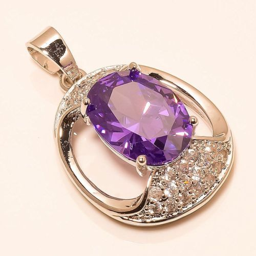 AMEHYST-AMERICAN-CZ-925-STERLING-SILVER-PENDANT-1-10