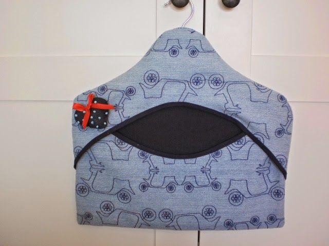 Lupecienta: Bolsa para pinzas y bolsa ropa delicada