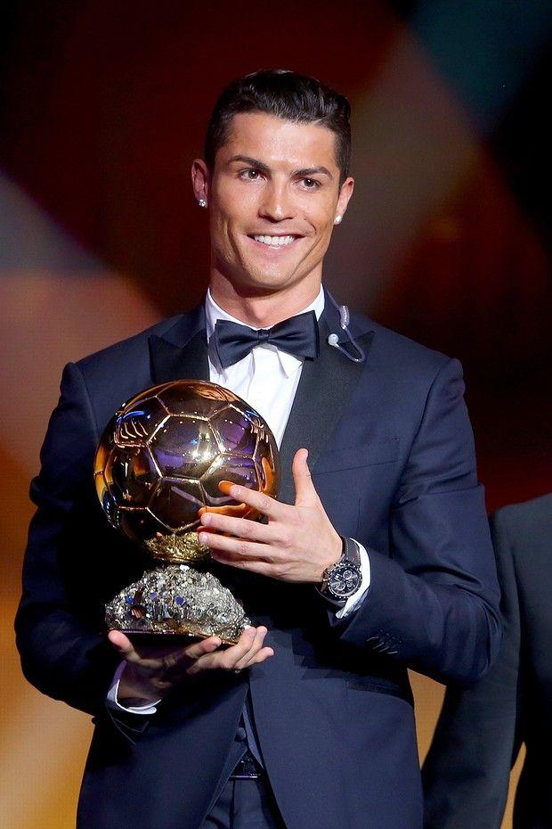 Cristiano Ronaldo Ballon Dor 2015 Football Pinterest